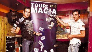 La magia de salón de tres ilusionistas se traslada en mayo a los bares